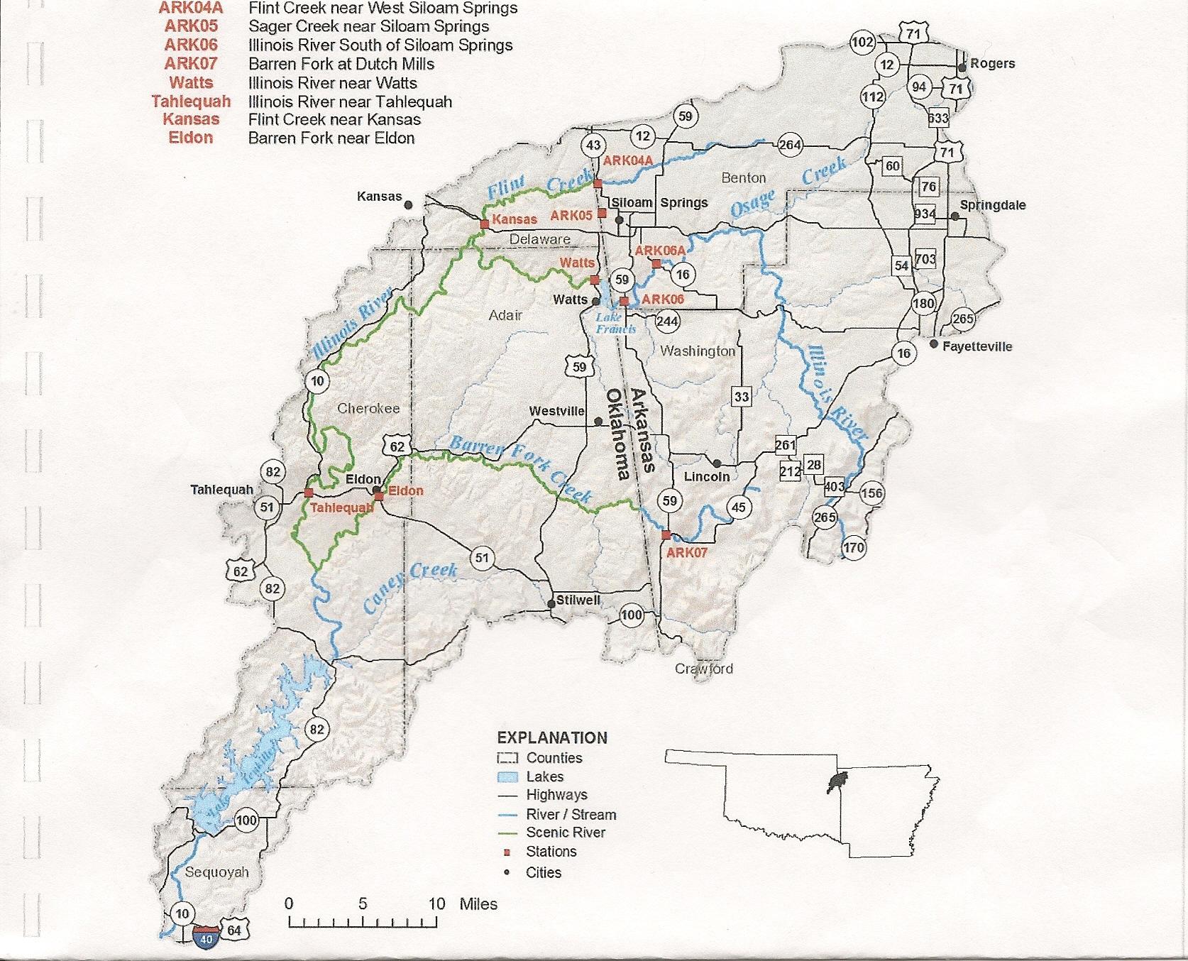 Report To The Arkansas Oklahoma Arkansas River Compact Commission Save The Illinois River Inc Oklahoma