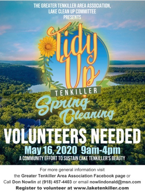 Tidy Up Tenkiller Shoreline Cleanup