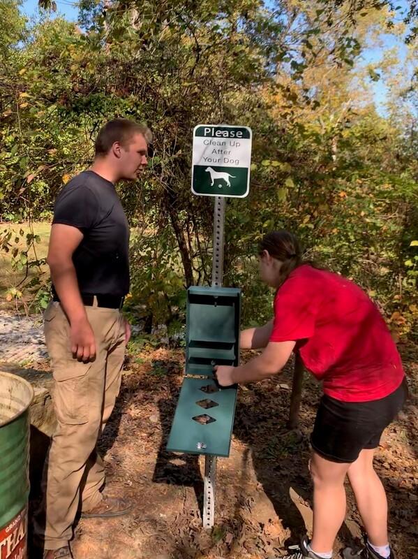 Team Effort for Pet Waste Disposal